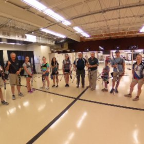 Thank you to everyone at LAS for the Dick Tone Recurve Archery Camp.  #theta360