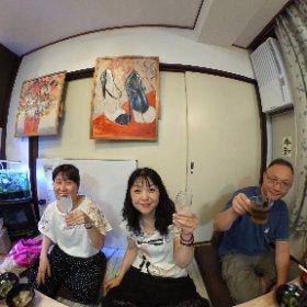 神楽坂キッチン #theta360