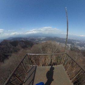 自転車で宮ヶ瀬行って、仏果山登山