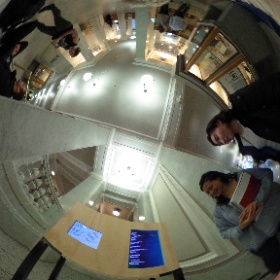 Preview of #nolegacy with Stephanie Lie #ucberkeley Brown Gallery, Doe Library in collab with @calnewmedia #theta360