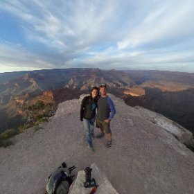 360 view Shoshone Point. Best view by far (and no other people!)