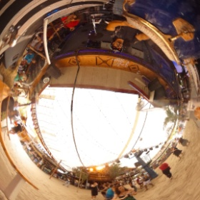 The Jim Long Band! #theta360