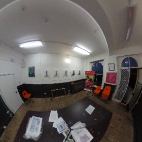 art exhibition in Dover smart art gallery by the young artist  Scarlett isherwood #theta360 #theta360uk