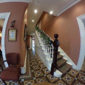 Bay tree hotel entrance.