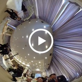 Wedding Ceremony #torontoweddingphotographer  #theta360