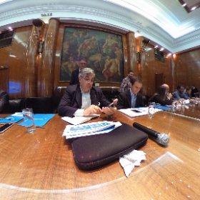 Conferencia de prensa de Aerolineas Argentinas