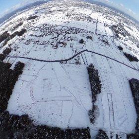 IKEDA  Gifu #snow #theta360