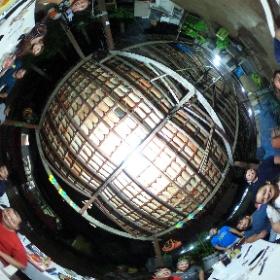 Comemorando o aniversário do Akio no puxadinho #theta360