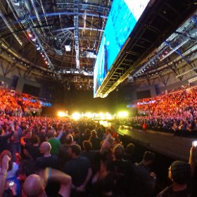 U2 Love Is Bigger Than Anything In Its Way Belfast 27/10 360 shot #U2ieTour