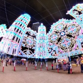 第23回 神戸ルミナリエ 2018 Kobe Luminarie  - Guardando al futuro #illumination #Luminarie #光の饗宴 #theta360