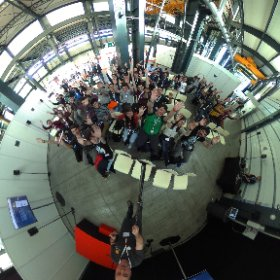 Many students interested in the #GSOC  I gave today at #CongresoRITSI in Sabadell, Spain @gsoc @GDG_ES  #theta360