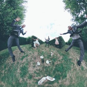 Sam + Jess's Wedding in virtual reality 360° #theta360