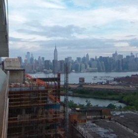 Manhattan's over there! #theta360
