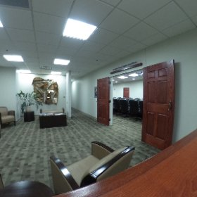 Check out the newly remodeled Dr. Louis & Susan Burgher Board Room @ClarksonCollege  #theta360