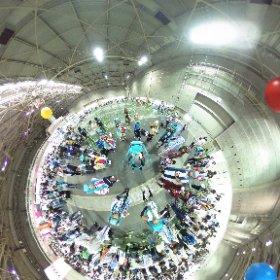 マジカルミライ 2018大阪!!ミクさんコスプレイヤー大集合♡雪ミクさんもいるよ〜😏協力してくれた皆さまありがとうございます😊💋会場の様子はのちほどUPするね⭐︎今週の幕張でも皆さまにお会いできますように❤️ #ミクシータ#マジカルミライ#マジミラ2018#theta360 #theta360