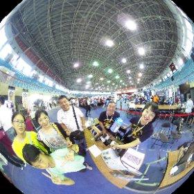 2018.10.28 台南 成功大學 Maker Festival 2018 - 東吳3D列印二師兄 3DP中霸天 建祺一家人來探班。