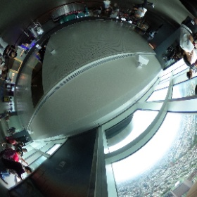 #まるちゃん台湾旅行 #台北101 展望台での360 #theta360