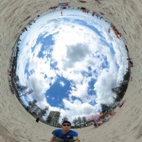 Gold Coast Beach 360 #theta360