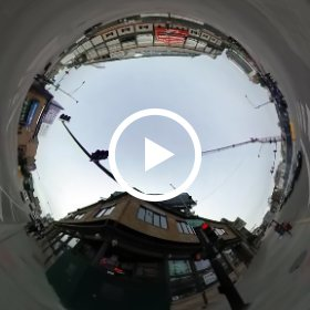 #360 video: #WrigleyField construction. #cubs #flythew #theta360