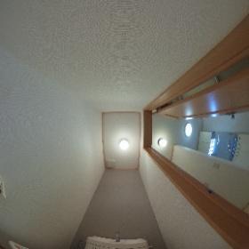 ライトドリーム105 トイレ #theta360