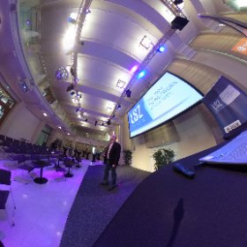 "360° Impression | Today I am moderating am event exploring ""The Digital Enterprise"" for @LSZconsulting  #theta360"