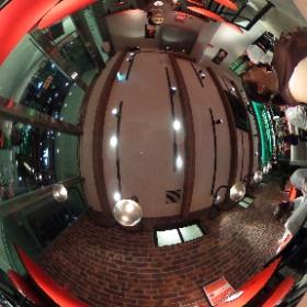 #RICHO の360度カメラの画像です(^^)! 店内が見渡せます☆ #チョコレート #チョコレートバー #チョコレートバー東京 #汐留ランチ #theta360