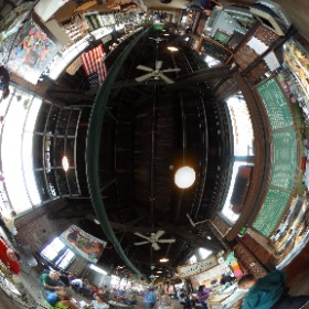 2nd Street Market a busy place in Dayton #theta360