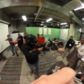 The best #Hackathon thrown by @Hacksterio #VR support @IliumVR ow.ly/YVsj306Q1bK #htcvive #theta360