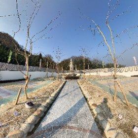 樹木葬さくらの杜第二駅家の360°画像 #theta360