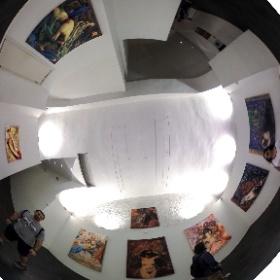 Mostra d'arte #allaroundyoureyes #picture  #theta360 #theta360it