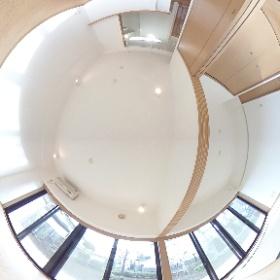 大宮駅に一番近い高台に建つデザイナーズマンション(さいたま市)新田ビレッジパインビュー館 Saitama.Minuma.Japan #theta360