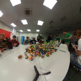 The StreetPass Basingstoke event is well under way today #theta360 #theta360uk