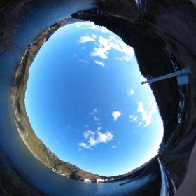 宮ヶ瀬ダム(上流側) #theta360