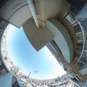 河田町コンフォガーデン 眺望 http://www.axel-home.com/009928.html #theta360