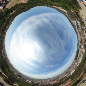 View from Park Güell. Barçelona. #theta360