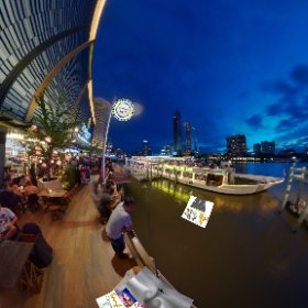 River City Complex on Chao Phraya River Bangkok is the Mecca of Diner Boat cruisers get on boat or enjoy the parade from a bistro on the pier SM hub https://goo.gl/8mXN                 #RiverCityBkk #butterfly3d