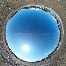 平成27年2月27日 豊間の平場宅地予定地で撮影した全天球写真です