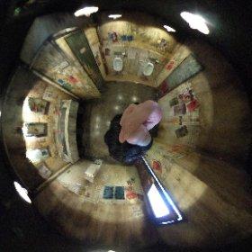 ウェアハウス川崎 男子トイレb 九龍城 360度カメラ #theta360