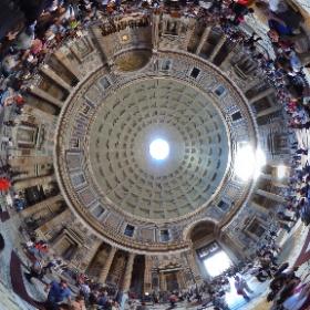 #pantheon #rome #visitrome #360view #theta360