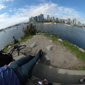 One of my fave #Vancouver #Zen spots. #MeetingBreak #VancouverisAwesome #360vr #theta360