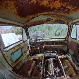 From auto wreckers SOOC needed defringing and more in post. #theta360