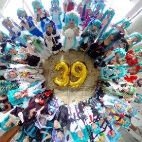 ミクシータでミクさん大集合!!! #ミク誕11周年大型あわせ  #miku360 #初音ミク生誕祭2018