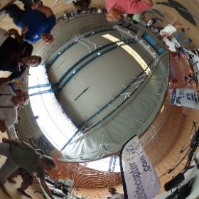 Stand de Teidecopter en el Candelaria Drone Festival #theta360