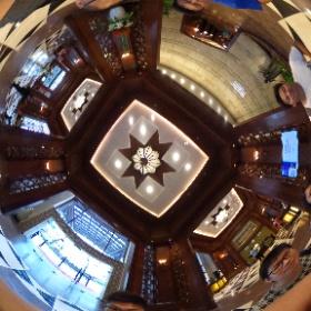 20170820 吉隆坡五星級酒店 喜來登帝國大酒店_大廳 #theta360