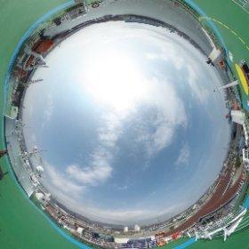 DBSフェリー 東海港 #theta360