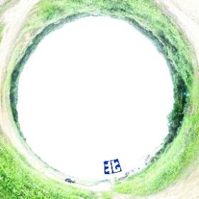 西之表市西之表【売地】造成済高台分譲地350万円 #theta360
