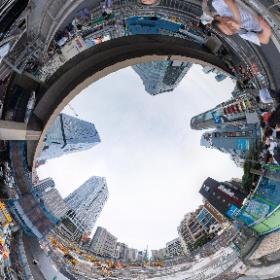 渋谷再開発・渋谷駅桜台口地区再開発真っ最中シータZ #渋谷再開発 #再開発記録シータ #渋谷  #theta360