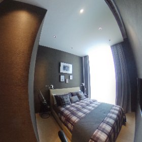 Noble BE19 Sukhumvit 2 Bedroom 73.16sq.m (Master Bedroom 360° View)