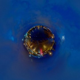 Between the Sky and the Earth on Claddagh | #EasterThursday2018 #galway360 #thecraic #animation360 #claddagh #easteringalway #rain3d #theta360