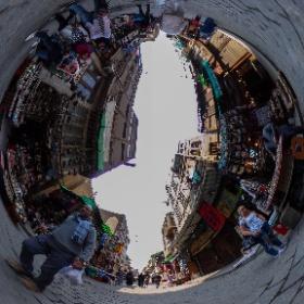 Khan el-Khalili Market in #Cairo #Egypt #Bazaar #theta360 #theta360de